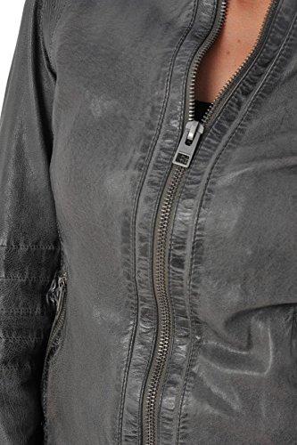 Oakwood Blouson Rider gris clair 528