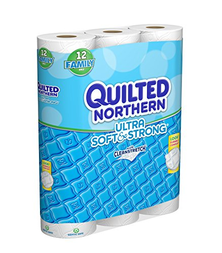 Quilted Northern Ultra Soft And Strong Toilet Paper 12