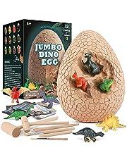 Morkka Dinosaurus Eieren Speelgoed Spellen Fossielen Opgraven Kit STEM Wetenschap Kits Voor 3-10-jarigen Kinderen Verjaardagsfeestje Cadeaus Paleontoloog Opgraving
