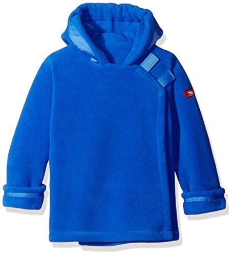Widgeon Little Boys' Toddler Polartec Fleece Warmplus Hooded Wrap Jacket, Blue, 4T