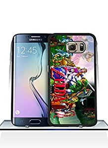 Ckholy - Galaxy S6 Edge Cell Phone Cover - Legend of Zelda Ocarina of Time - Galaxy S6 Edge Phone Funda Case - Custom Stylish Anti-Scratch Hard Plastic Protection Funda Case With Printed HD Pattern For Samsung Galaxy S6 Edge (not fit S6 / S6 Edge Plus)
