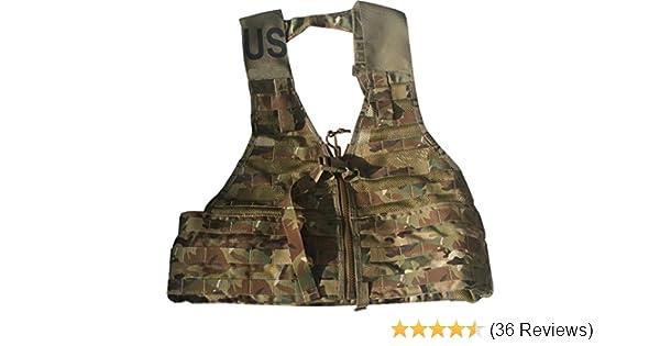 Original Items US Military MOLLE FLC Fighting Load Carrier Tactical Vest Woodland Camo USGI EXC