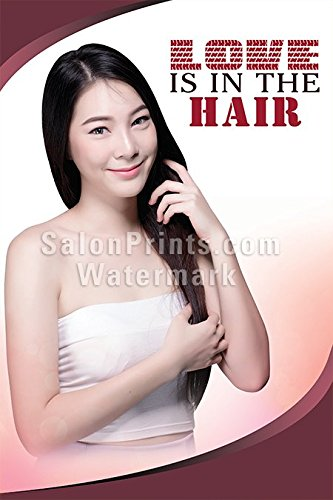 Global Printing Services Hair Salon Poster - Beautiful Model
