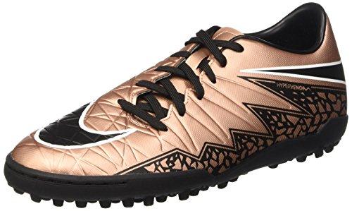 Botines De Fútbol Nike Hypervenom Phelon Ii Tf Turf (bronce Rojo Metálico)