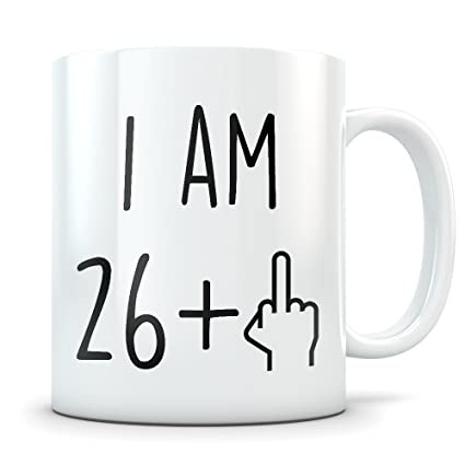 Amazon 27th Birthday Gift For Women And Men Mug 27 Year Old Gifts Happy Bday Party Gag Kitchen