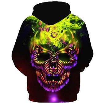 Takra Gold Unisex Beautiful Green Galaxy Fashion Hooded Sweatshirt Hoodies