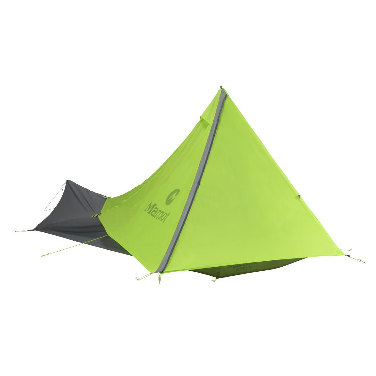 Marmot Nitro 1p Tent: 1-Person 3-Season Green Lime/Steel, One Size by Marmot   B00M85X0OS