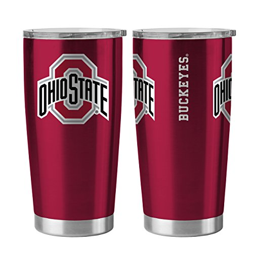 Ohio State Buckeyes 20 oz Ultra Stainless Steel Travel - Beverage State Ohio Buckeyes
