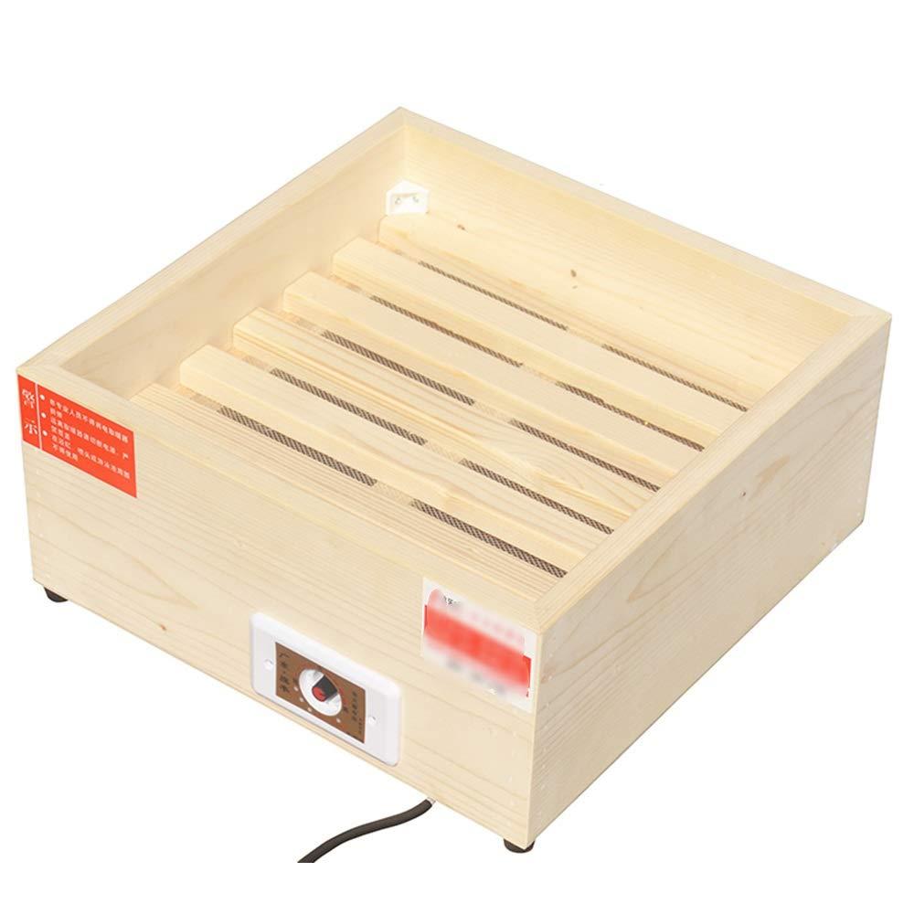 Calentador QFFL, hogar de Madera sólida Ahorro de energía pies Estufa de Tostado Enfriamiento y calefacción (Tamaño : 40 * 40 * 20cm): Amazon.es: Hogar