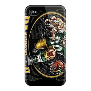 New Premium Qqoo Green Bay Packers Skin Case Cover Excellent Fitted For Iphone 5/5s