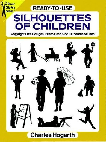 - Ready-to-Use Silhouettes of Children (Dover Clip Art Series)
