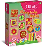 Magnetic Tile Art and Craft Activity Kit (Glow in the Dark)