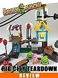 LEGO Angry Birds Pig City Teardown Review : LEGO 75824