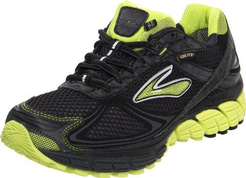 Brooks Ghost Gtx W, Damen Sportschuhe - Running Schwarz (Lime/Black)