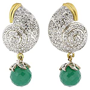 Arabella Luxuries Alloy Le Paisley Victorienne Drop and Dangle Earring