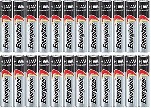 - Energizer Max Alkaline AAA Batteries 8 ea ( Pack of 3)