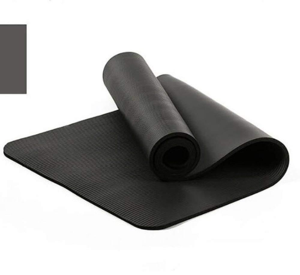 YOJUDN Estera de Yoga NBR de 10 mm con Cuerda de Transporte ...