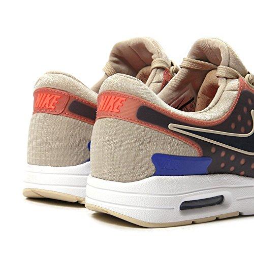 Nike Femmes Air Max Zéro Si Formation / Chaussure De Course Avoine / Binaire Bleu / Blanc