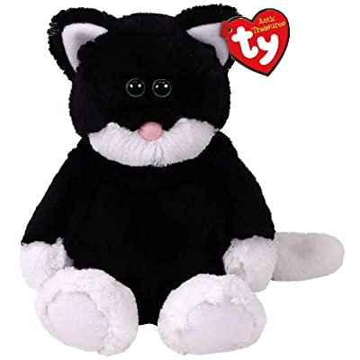 Ty Bessie - Black/White cat med: Toys & Games
