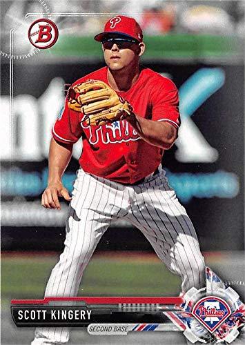Scott Kingery baseball card rookie (Philadelphia Phillies) 2017 Topps Bowman #BD114