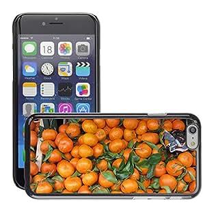 "Etui Housse Coque de Protection Cover Rigide pour // M00151335 Naranjas Frutas Hojas Agrios // Apple iPhone 6 4.7"""