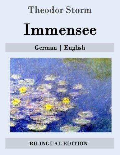 Immensee: German | English  [Storm, Theodor] (Tapa Blanda)
