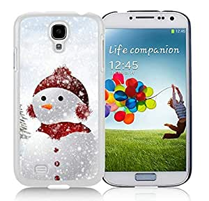 Custom-ized Samsung S4 TPU Protective Skin Cover Cute Snow Baby White Samsung Galaxy S4 i9500 Case 1