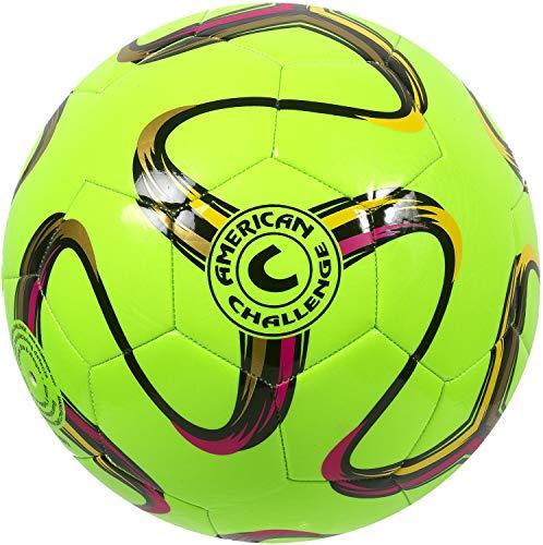American Brasilia Soccer Ball (Lime, 3)