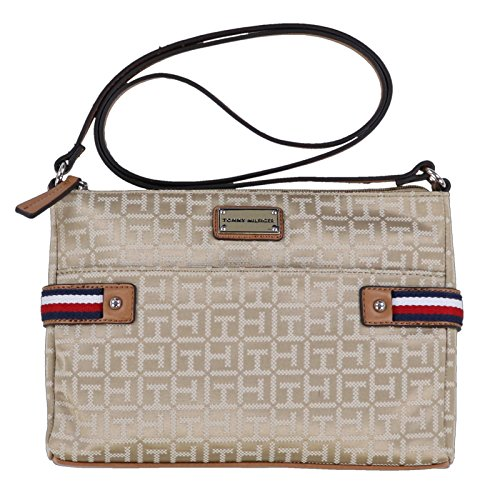 Shoulder Tan Hilfiger EW Tommy Crossbody Handbag zO1xg