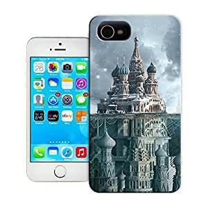 TYH - Unique Phone Case Famous buildings Schusev State Museum of Architecture Hard Cover for iPhone 4/4s cases-buythecase ending phone case