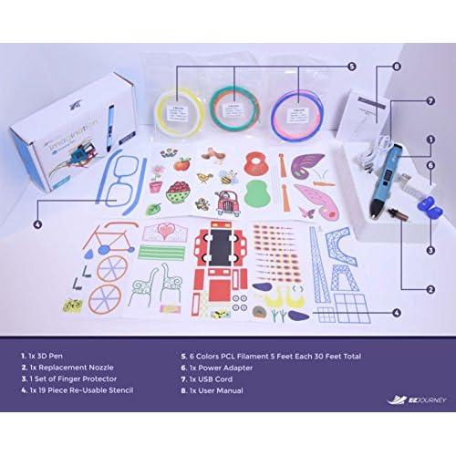 good 3D Pen for kids Low Temperature PCL Filament Refills 6