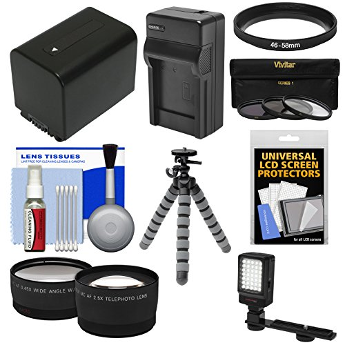 Essentials Bundle for Sony Handycam HDR-PJ540, HDR-PJ670 & H