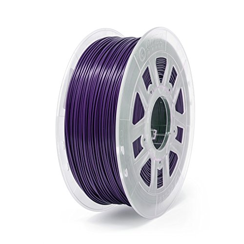 Gizmo Dorks 1.75mm PLA Filament 1kg / 2.2lb for 3D Printers, Dark Purple