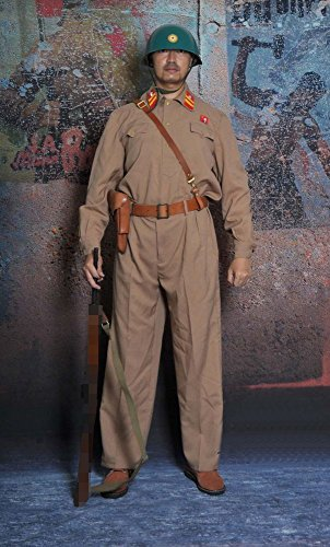 Opposite Korea summer border-guard uniforms set
