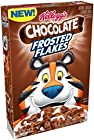 Kellogg's Breakfast Cereal, Chocolate Frosted Flakes, Low Fat, 13.2 oz Box