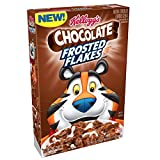 Kellogg's Breakfast Cereal, Chocolate Frosted Flakes, Low Fat,  13.2 oz Box For Sale