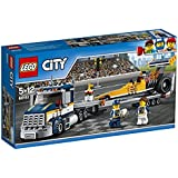 LEGO City 60151 - Dragster-Transporter, Bausteinspielzeug