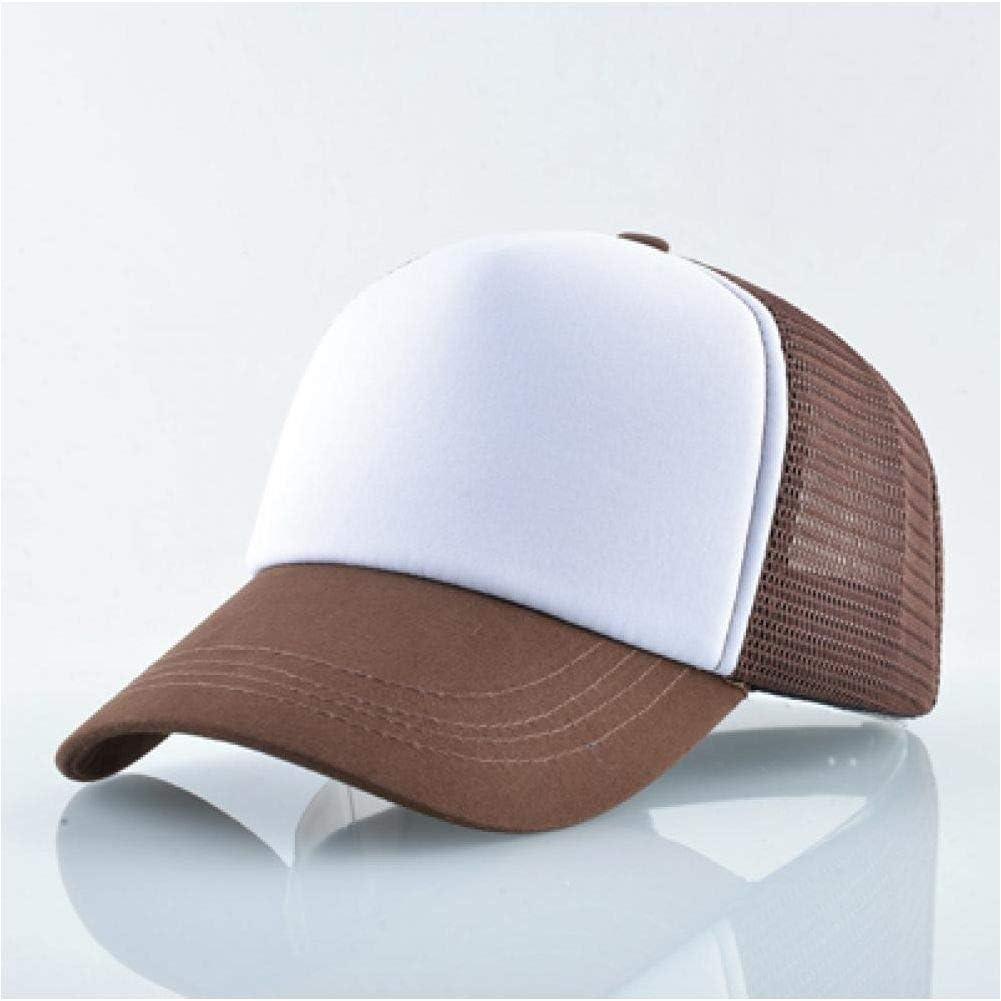 SZJXZ Baseballm/ütze Baseball Cap M/änner Frauen Sommer Mesh Hut Paar Hochwertige DIY 1Pc Blank Customized Design Snapback H/üte
