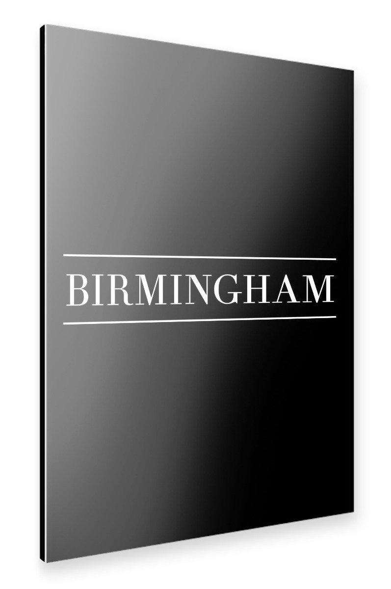 Amazon.de: artboxONE Alu-Print 120x80 cm BIRMINGHAM | HORIZONTAL von ...