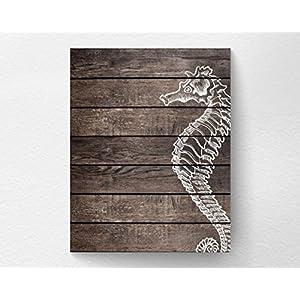 51NNK6D8-JL._SS300_ Seahorse Wall Art & Seahorse Wall Decor