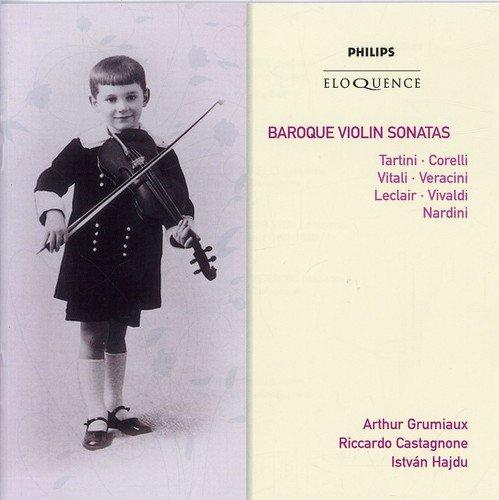 CD : Arthur Grumiaux - Baroque Violin Sonatas (Australia - Import, 2PC)