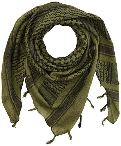 VooDoo Tactical 08-3065009000 Woven Coalition Desert Scarves, Green/Black