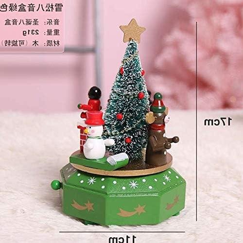 Willower Decoraciones navideñas Árbol de Navidad Caja de música ...