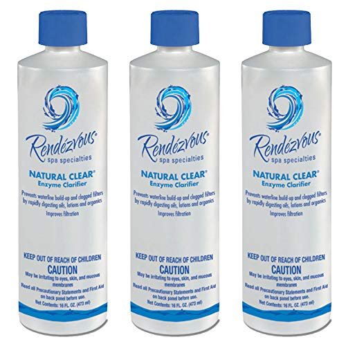 Rendezvous Spa Specialties Hot Tub Natural Clear Enzyme Water Clarifier (3 ()