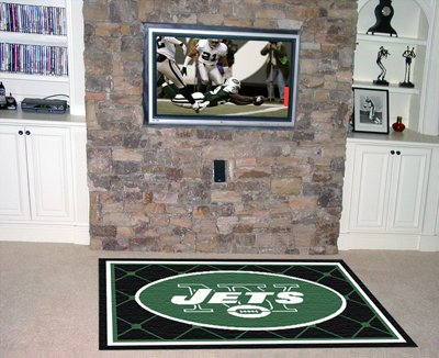 Fan Mats New York Jets Rug, 60'' x 92'' by Buy Sports Picture