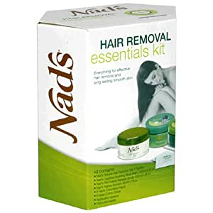 Nad's Hair Removal Essentials Kit, 1 kit