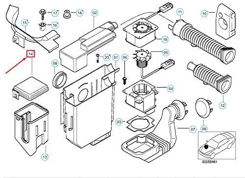 Z3 E36 Relay Box Cover 12521433538 1433538 New Genuine: