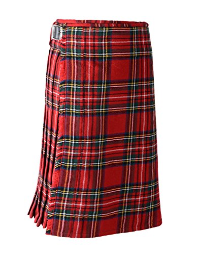 Scottish Mens Kilt Traditional Highland Dress Skirt