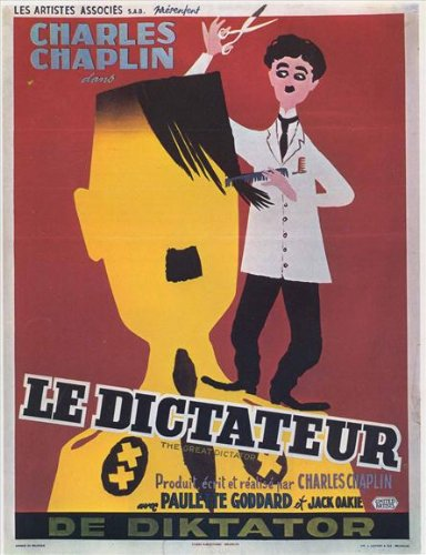 The Great Dictator Poster Movie 1 11x17