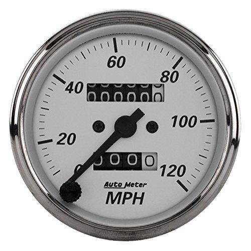 Auto Meter 1993 American Platinum Mechanical Speedometer